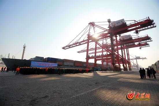 日照港集团年货物吞吐量突破3亿吨 排名世界十二